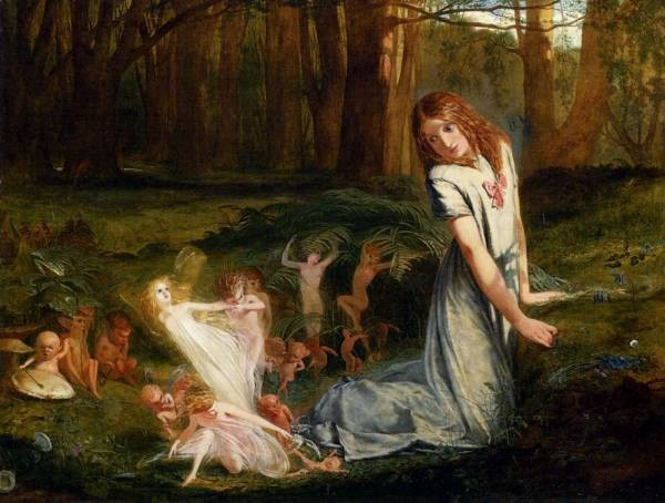 A Glimpse Of The Fairies